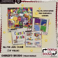 Charlies Arcade Digital Scrapbooking Collab Bundle Kids Games