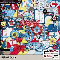 Sailor Duck Digital Scrapbooking Collab Kit Disney