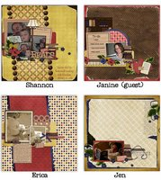 Take Me Away Digital Scrapbooking Collab Kit Books Reading Family