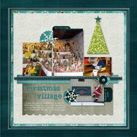31 Days Has December Digital Scrapbooking Cardstock