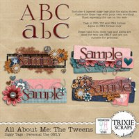 All About Me: The Tweens Signature Tags