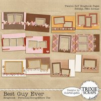 Best Guy Ever Digital Scrapbooking Bragbook