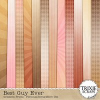 Best Guy Ever Digital Scrapbooking Gradient Papers