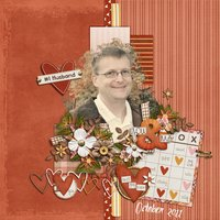 Best Guy Ever Digital Scrapbooking Kit Valentine's Day