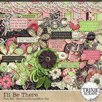 I'll Be There Digital Scrapbooking Kit Love