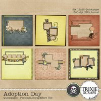 Adoption Day Digital Scrapbooking Quickpages