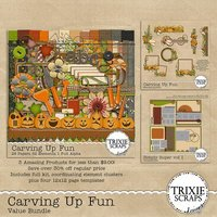 Carving Up Fun Digital Scrapbooking Bundle