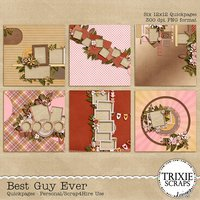 Best Guy Ever Digital Scrapbooking Quickpages