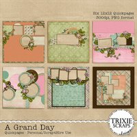 A Grand Day Digital Scrapbooking Quickpages