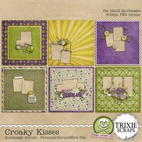 Croaky Kisses Digital Scrapbooking Quickpages Disney