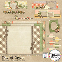 Day of Grace Blogwear BLOGGER Template