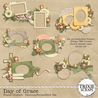 Day of Grace Digital Scrapbooking Clusters