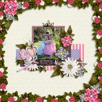 Just One Kiss Digital Scrapbooking Kit Disney