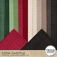 Little Ladybug Digital Scrapbooking Cardstock