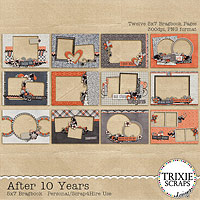 After 10 Years Digital Scrapbooking 5x7 Bragbook