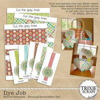 Dye Job Digital Scrapbooking Hybrid Printable Easter