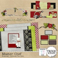Master Chef Blogger Template Theme Cooking Recipes