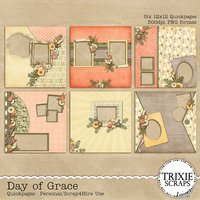 Day of Grace Digital Scrapbooking Quickpages