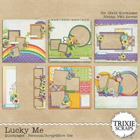 Lucky Me Digital Scrapbooking Quickpages