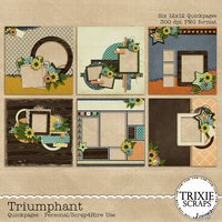 Triumphant Digital Scrapbooking Quickpages