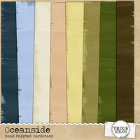 Oceanside Digital Scrapbooking Cardstock