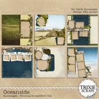 Oceanside Digital Scrapbooking Quickpages
