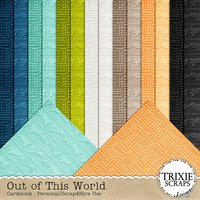 Out of This World Digital Scrapbooking Cardstock Disney