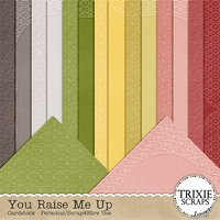 You Raise Me Up Digital Scrapbooking Cardstock