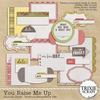 You Raise Me Up Digital Scrapbooking Journal Cards