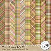 You Raise Me Up Digital Scrapbooking Krafty Plaids