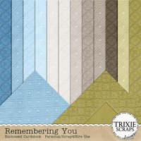 Remembering You Digital Scrapbooking Cardstock
