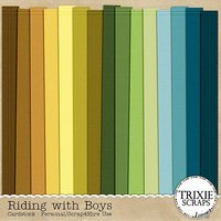 Riding with Boys Digital Scrapbooking Cardstock Boys Sports Kids