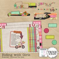 Riding with Girls Blogger Template Theme Kids Sports