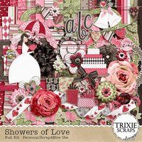 Showers of Love Digital Scrapbooking Kit Bridal Bachelorette