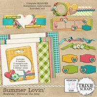 Summer Lovin' Blogwear Blogger Template Theme
