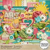 Summer Lovin' Digital Scrapbooking Kit Seasons Love Family