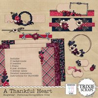 A Thankful Heart Blogwear Blog Template BLOGGER