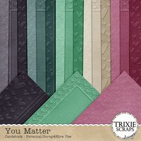 You Matter Digital Scrapbooking Cardstock